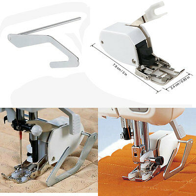 Sewing Machine Screw-on Even Feed Walking Foot w/ Quilt Guide for Brother/Singer