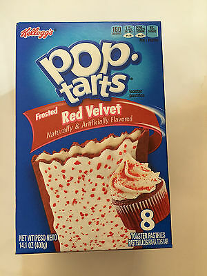 Kelloggs Frosted Red Velvet 8 Toaster Pastries