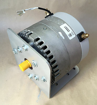 Manta II 10 hp DC electric motor 12 24 48 Etek  Permanent Magnet WITH MOUNT BRK