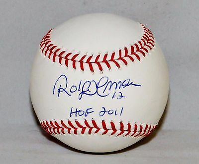 Roberto Alomar HOF Autographed Rawlings OML Baseball- JSA W Authenticated