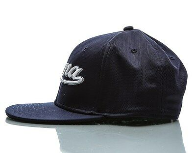 c8aa942990c NEW PUMA SCRIPT Peacoat Navy Gray Youth OSFM Fitted Hat Cap -  8.91 ...
