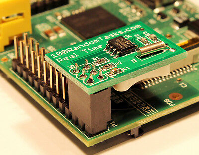 Real Time Clock compatible with Raspberry Pi