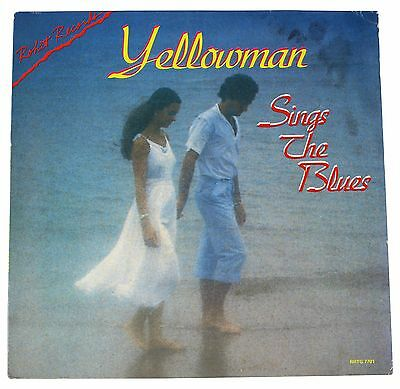 YELLOWMAN Sings The Blues LP Rohit Records 80s Tuff Gong Lovers Reggae Covers