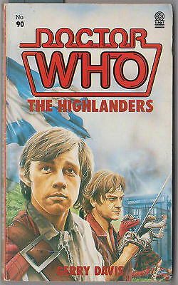 Rare: Dr Doctor Who - The Highlanders. GC, 1st edition. Target books