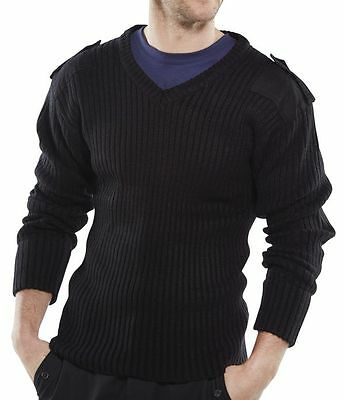 NATO,Forces,Force,Cadet,Security,Military, Army Acrylic V neck Jumper