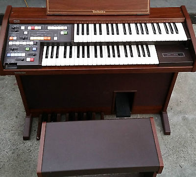TECHNICS quality electronic organ SX-E8L excellent condition & working order