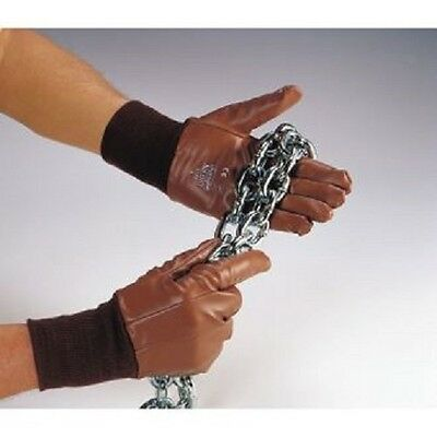 Polyco Superglove Nifort 9713 nitrile with knitted wrists coated gloves size 10