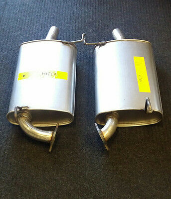 1999-2003 Acura 3.2Tl Driver And Passenger Side Muffler Assembly