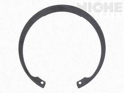 Housing Retaining Ring Internal M100 Spring Steel PH (10 Pieces)