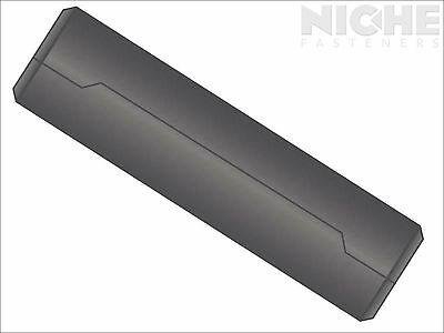 Dowel Pin Ground Hollow M12 x 24 Low Carbon Steel  (20 Pieces)