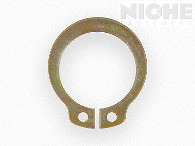 Snap Retaining Ring External Heavy Duty 2 Spring Steel ZY (5 Pieces)