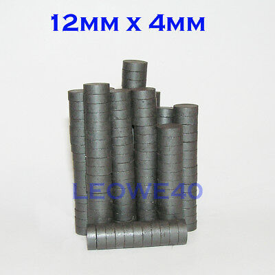 ferrite disk magnets DIY fridge craft disc strong circle 20mm x 3mm #802