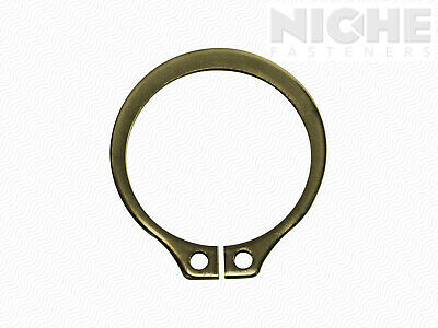Snap Retaining Ring External 1/4 Spring Steel ZY (100 Pieces)