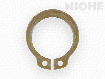 Snap Retaining Ring External Heavy Duty 7/8 Spring Steel ZY (75 Pieces)