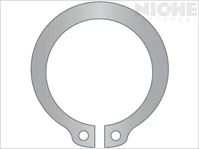 Snap Retaining Ring External Heavy Duty 5/8 Stainless Steel (10 Pieces)