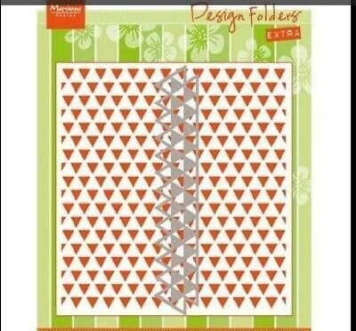 Marianne Design Embossing Folder TRIANGLES  DF3428