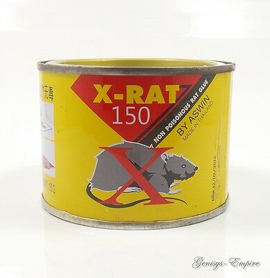 X Rat 150 Glue Mouse Rodent Pest Insect Trap Glue Sticky Non Poisonous Non Toxic