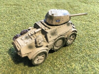 1/100th (15mm) Painted WWII Italian AB-43 Armored Car Wargaming Model Mfid:IT08