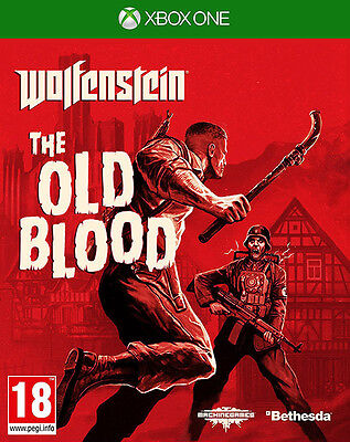 Wolfenstein the Old Blood ~ XBox One (in Great Condition)