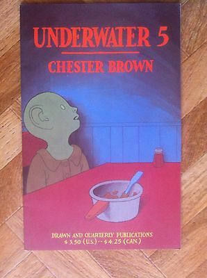 Underwater #5 Chester Brown Drawn And Quarterly Fine (F52)