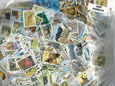 ANIMAUX 4000 timbres différents