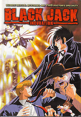 Black Jack: Incubation. 2 Episode Standalone Anime OVA Series. New In Shrink! R4