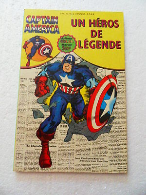 Captain America 1 . Aredit 1979 -  BE /TBE