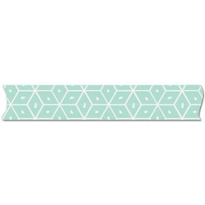 Fancy Pants - MILLIE & JUNE - Aqua Geo Washi Tape