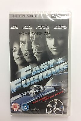Fast & Furious Umd Movie Film For Sony Psp Brand New Sealed Freepost