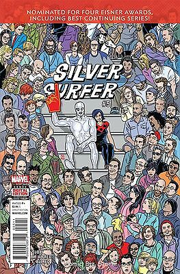 Silver Surfer #5 (2016) 1St Printing Bagged & Boarded