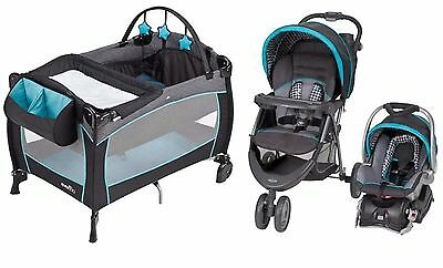 New Baby Stroller Travel System Car Seat Infant Care Playard