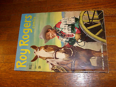 Roy Rogers #41, 1951 Dell Comic, Verygood