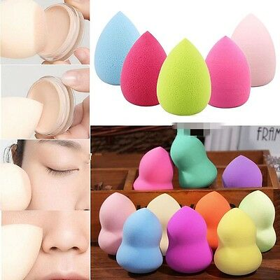 4Pcs Makeup Foundation Sponge Blender Puff Flawless Powder Smooth Beauty Set