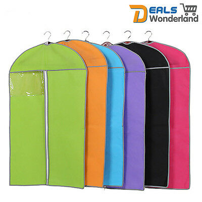 5Pcs Home Storage Protect Cover Travel Bag for Garment Suit Dress Clothes Coat