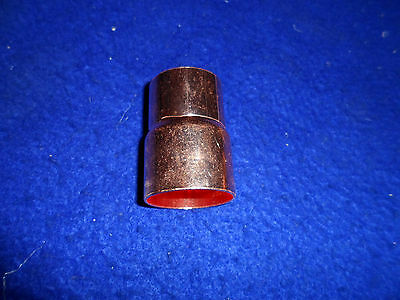 """1-1/2"""" x 1-1/4"""" COPPER BELL REDUCER COUPLING (FITS 1-5/8""""OD X 1-3/8"""" OD PIPES)"""