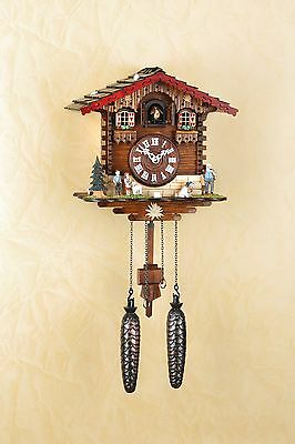 Kuckucksuhr, Wanduhr, Heidi, Schwarzwald, Cuckoo Clock, Made in Germany 446Q