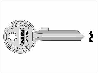 ABUS Mechanical - 24/70-82/63-92/65 Key Blank 00906