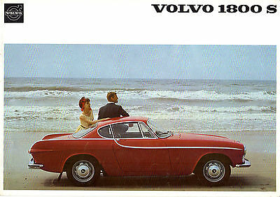 Volvo 1800 S Coupe 1965-66 UK Market Sales Brochure P1800