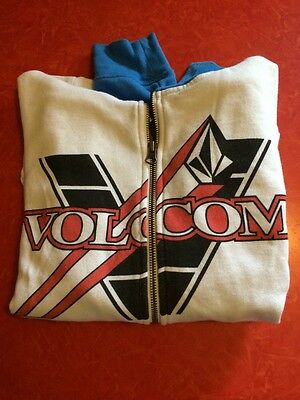 VOLCOM Speed Racer Hoodie w/ Zip Face Goggles Boys Sz L Women's Sz S