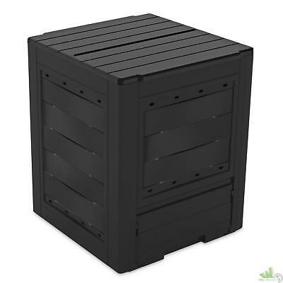 Compostiera Lt.260 Ambition Antracite Cm.60X60X73H Composter Toomax Resina