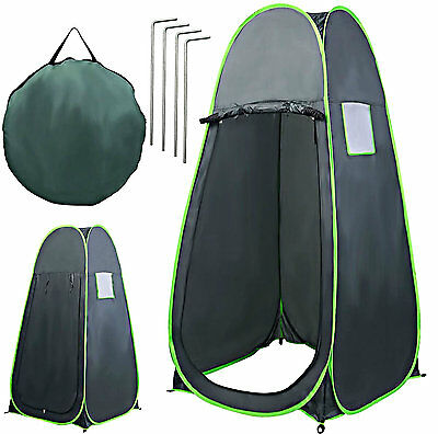 Pop Up Campers Tent Camping Portable Toilet Shower Changing Room Trailer Tents