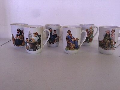 Norman Rockwell Museum Coffee Cups (6)