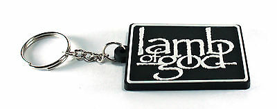 RockHyena LAMB OF GOD New! Rubber Keychain Keyring Key chain (Redneck) AA212