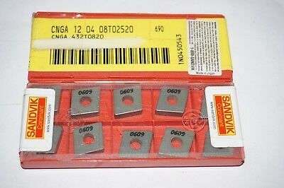10 new SANDVIK Coromant CNGA 432T0820 690 Ceramic Turning Inserts 120408T02520