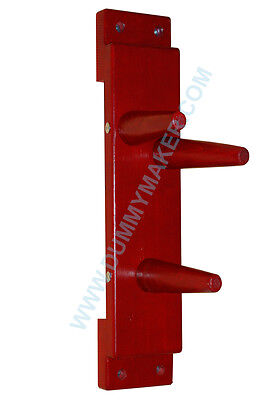 Wing Chun Wooden Dummy Plane Red Color