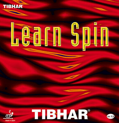 Tibhar Learn Spin Table Tennis Rubber