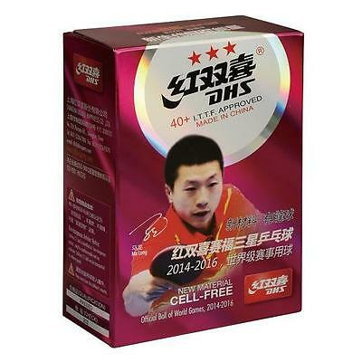 DHS 3 Star Cell-Free 40+ Table Tennis Ball