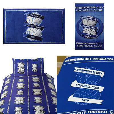 Birmingham City Football Club Single Duvet Set, Rug, Fleece Blanket, Beach Towel