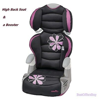 Toddler Safety Convertible Car Seat Kids Children Booster Baby Adjustable Chair