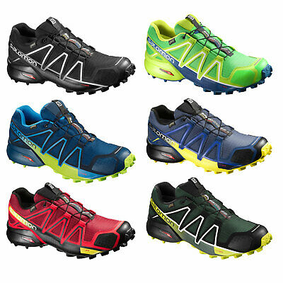 check out 672ff 5ee45 SALOMON SPEEDCROSS 4 GTX GoreTex Herren-Outdoorschuhe Laufschuhe  wasserdicht NEU